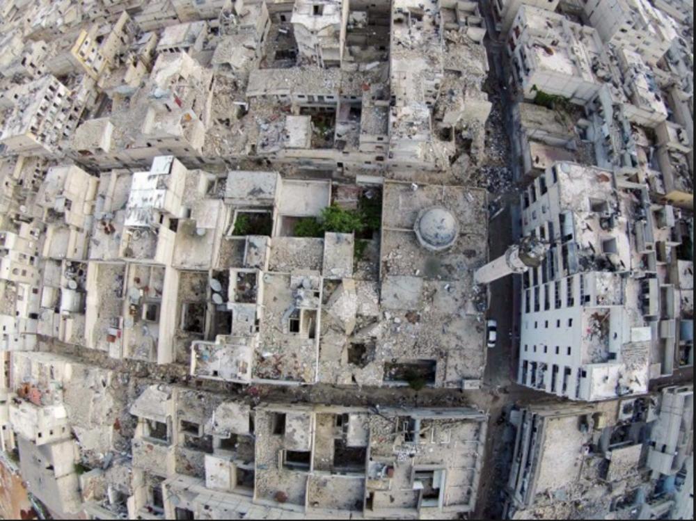 Arial image Aleppo 2015 Hosam Katan - Reuters