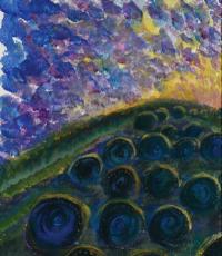 Abundance, tempera on paper, 2011