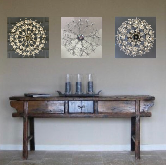Stylish and contemporary metal prints add intrigue to any spot.