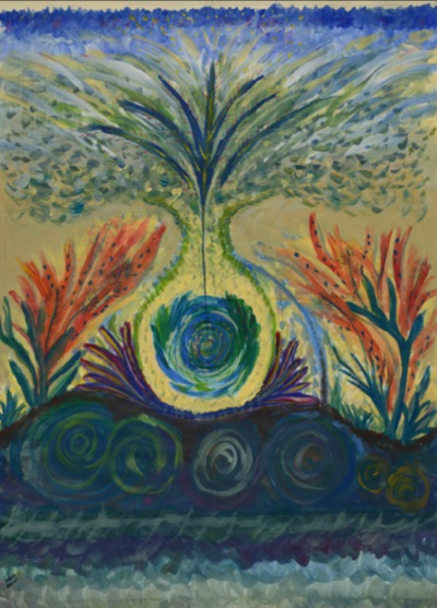 Release  Tempera on paper, 2011
