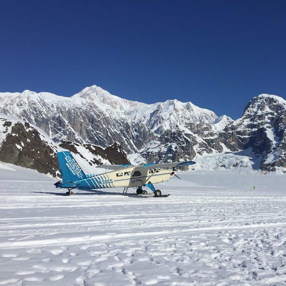 Glacier Landing -