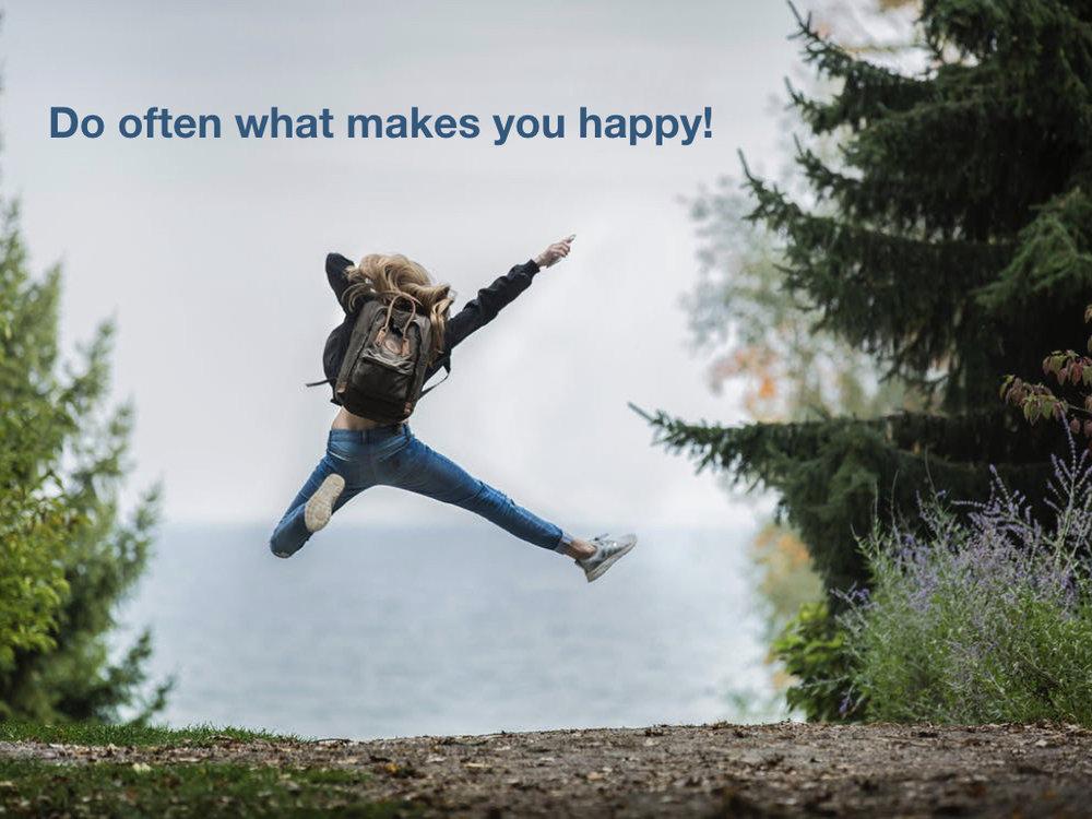 Fă des ceea ce te face fericit! Sursă poză: Pexels