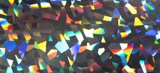 crystal shards - silver (S0HO38)