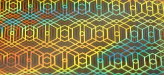 hexagons - gold (G0KP38)
