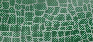 mosaic - green (N0AG01)