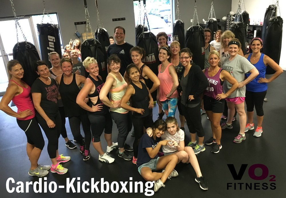 Cardio-Kickboxing with Sally