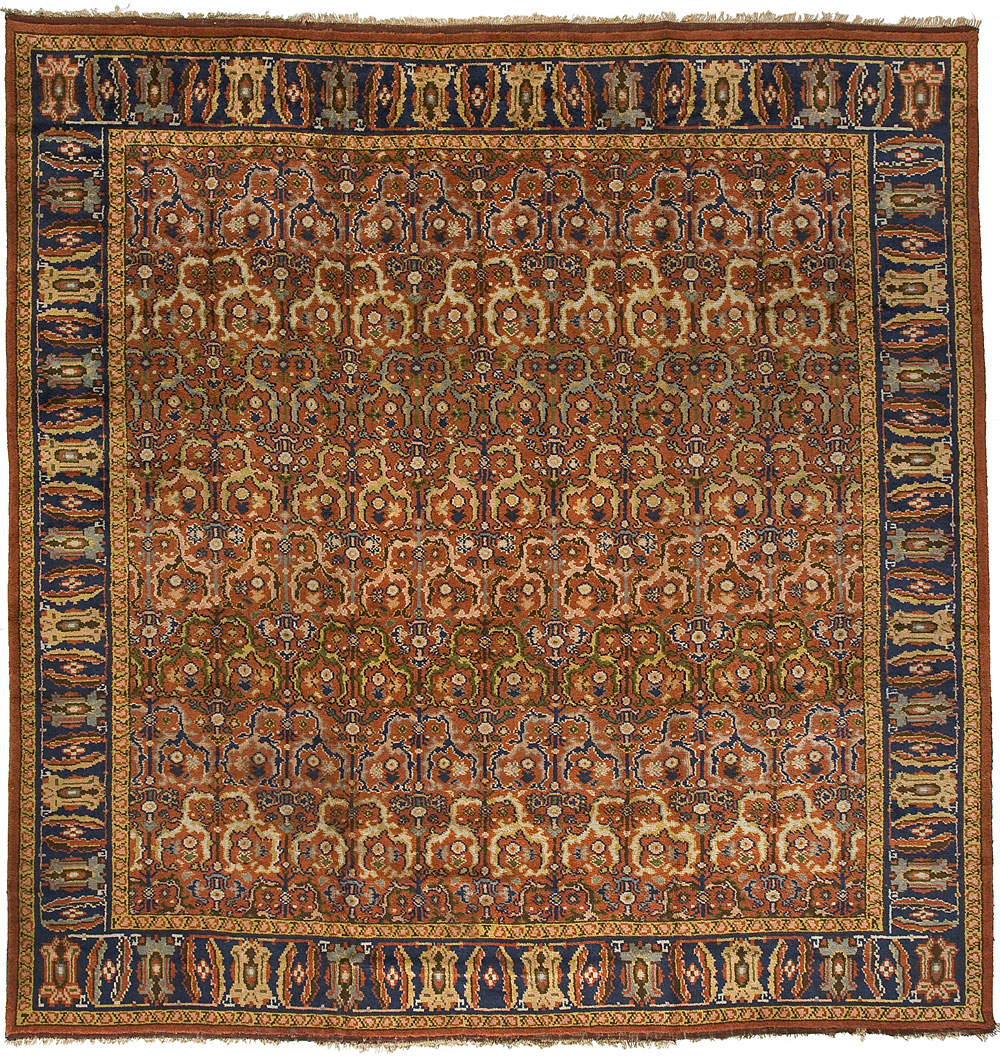 English Oushak Carpet_17014