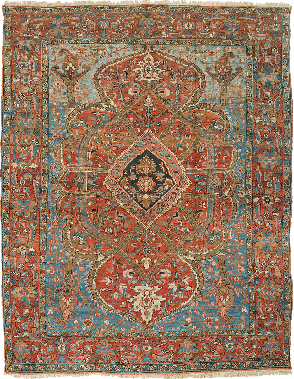 Heriz Carpet_17007