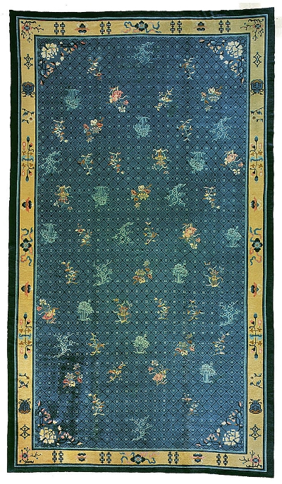 "Chinese Carpet 19' 2"" x 11' 2"""