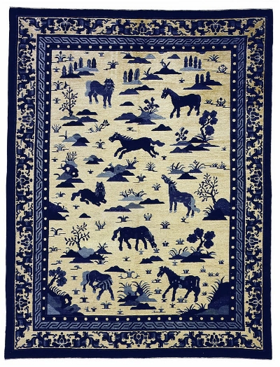 "Chinese Carpet 10' 0"" x 7' 8"""