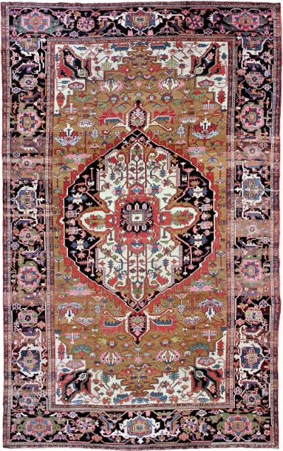 "Heriz Carpet 18' 3"" x 11' 5"""