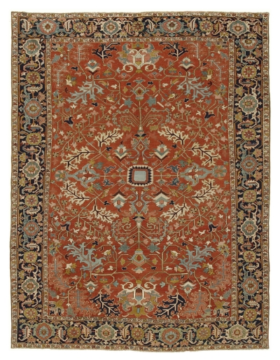 "Heriz Carpet 14' 7"" x 11' 4"""