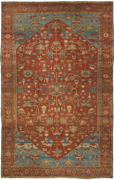 "Heriz Carpet 16' 1"" x 10' 6"""