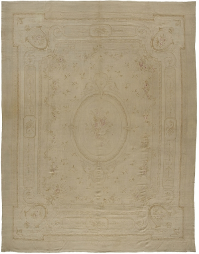 "Aubusson Carpet 16' 8"" x 12' 4"""