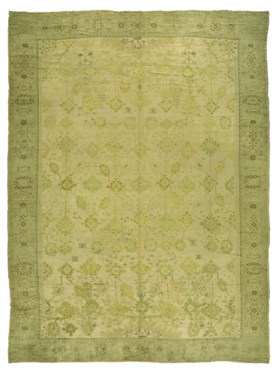 """Oushak Carpet 21' 2"""" x 15' 8"""""""