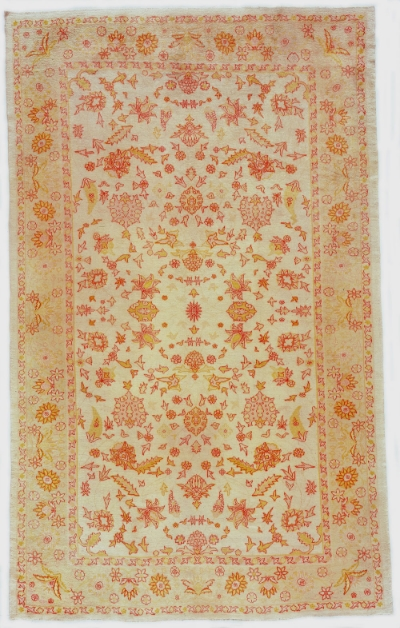 """Oushak Carpet 15' 7"""" x 9' 9"""""""