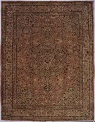 "Tabriz Carpet 12' 9"" x 9' 7"""