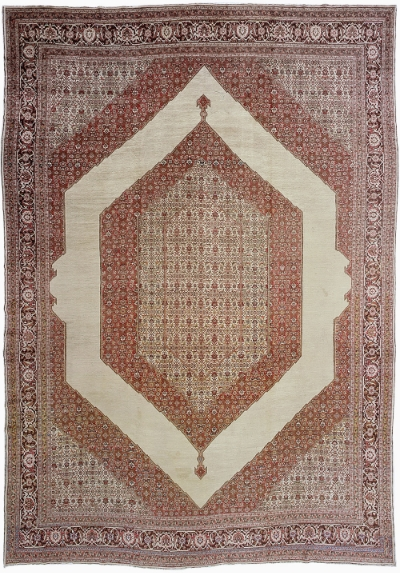 "Tabriz Carpet 18' 0"" x 12' 6"""