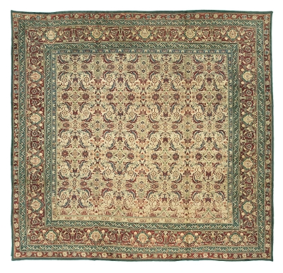 "Agra Carpet 12' 4"" x 11' 8"""
