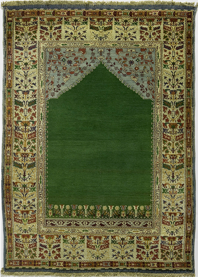 "Agra Prayer Rug 6' 2"" x 4' 4"""