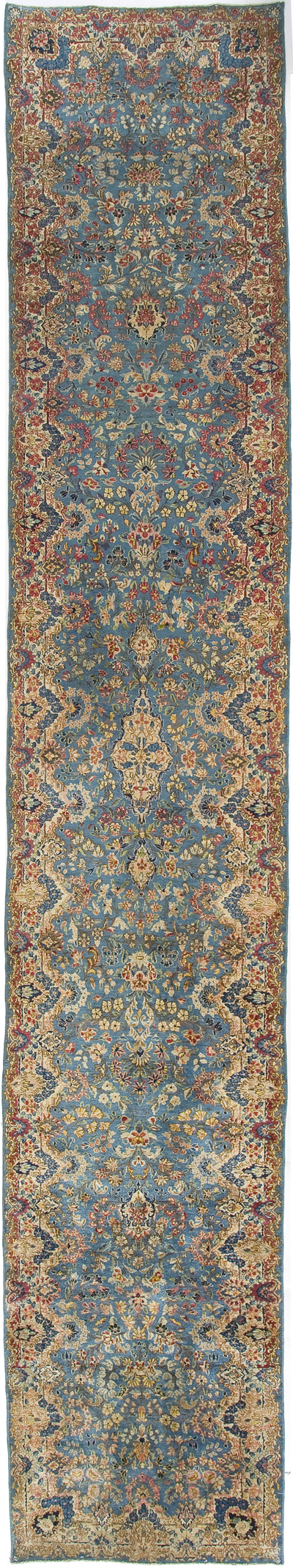 "Kirman Runner 17' 5"" x 2' 10"""