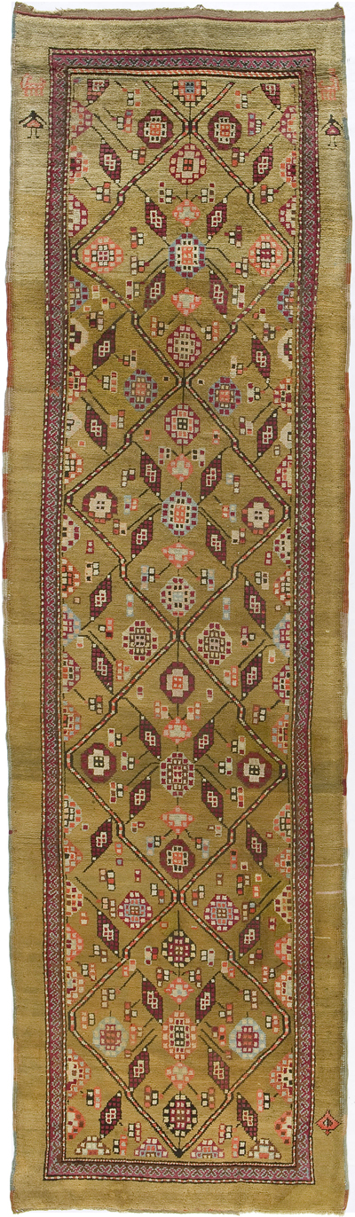 "Northwest Persian Runner 12' 4"" x 3' 5"""
