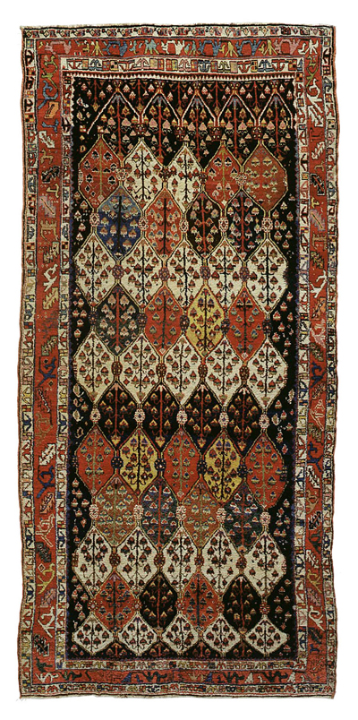 "Sehna Kurd Gallery Carpet 13' 9"" x 6' 5"""