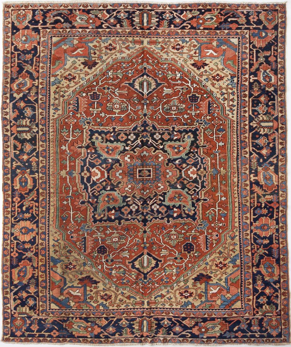Heriz Carpet_17199