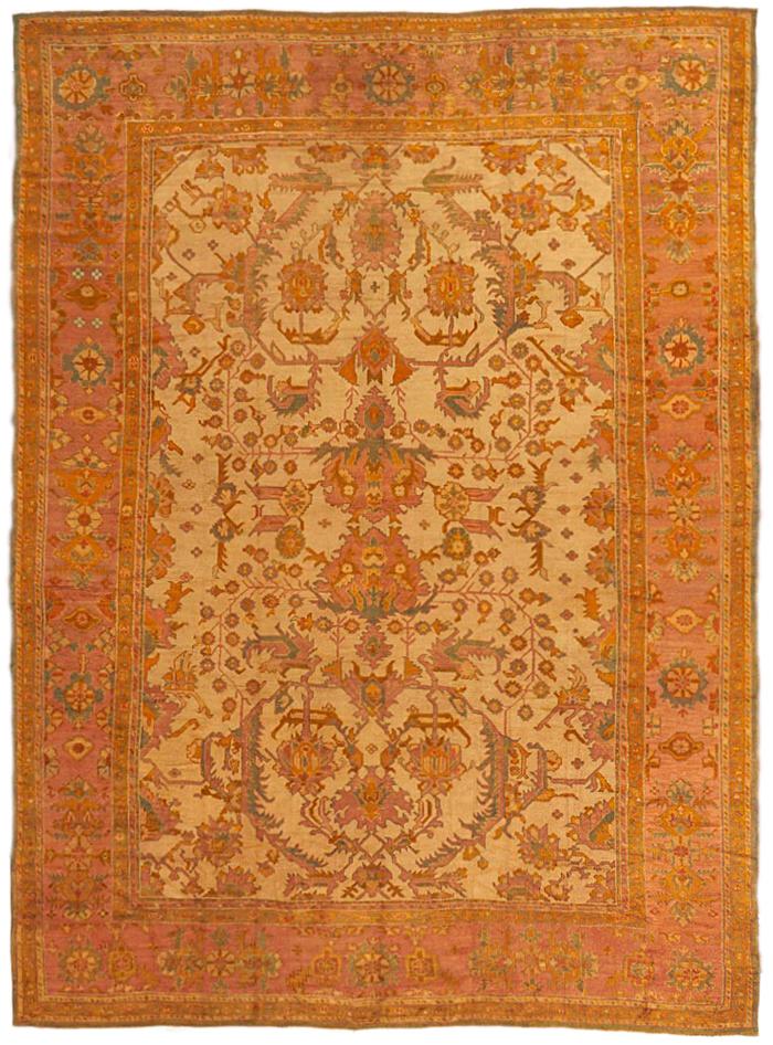 Oushak Carpet_17386