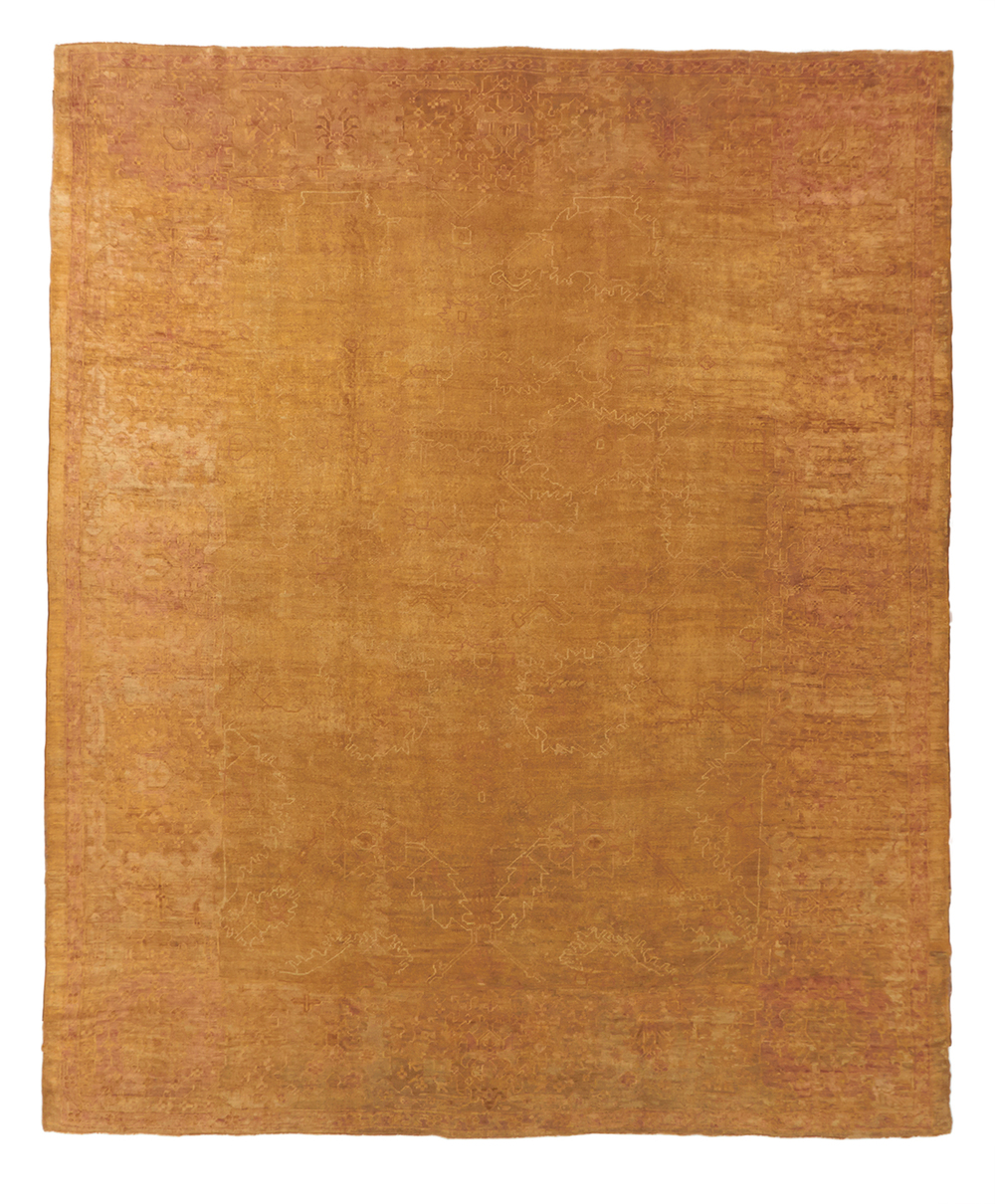 Oushak Carpet_14126