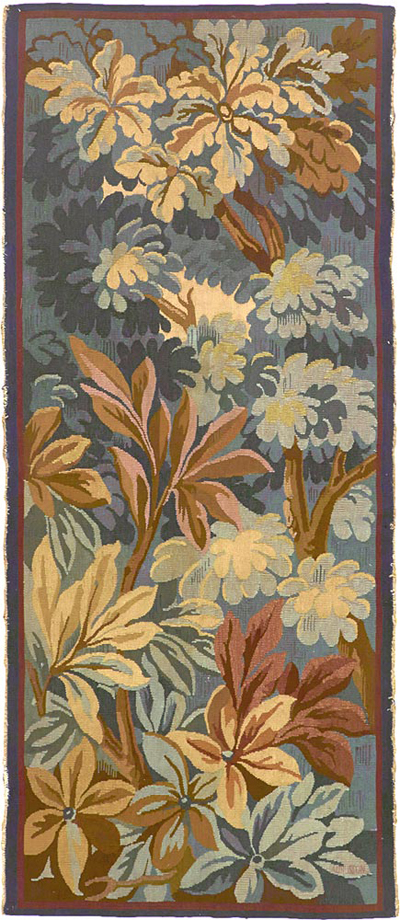 "Aubusson Tapestry 5' 5"" x 2' 3"""