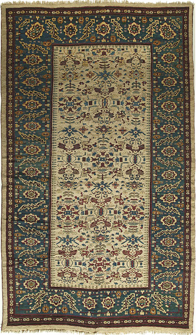 "Agra Carpet 13' 7"" x 8' 1"""