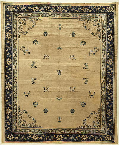 "Chinese Carpet 9' 7"" x 8' 0"""