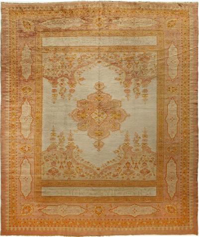 """Oushak Carpet 13' 0"""" x 10' 10"""""""