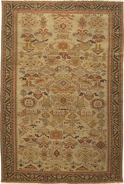 "NW Persian Carpet 9' 3"" x 5' 10"""