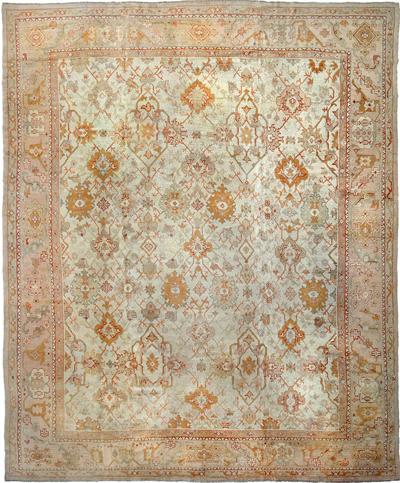 """Oushak Carpet 16' 2"""" x 13' 4"""""""