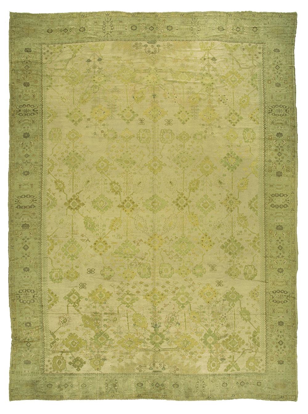 Oushak Carpet_09853