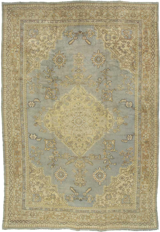 Oushak Carpet_13034