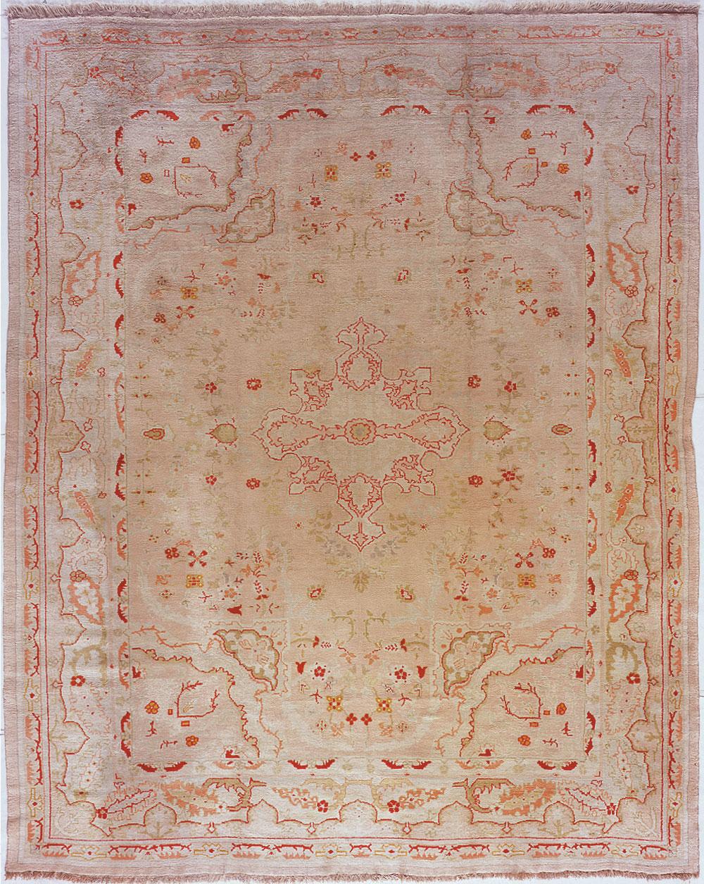 Oushak Carpet_17253