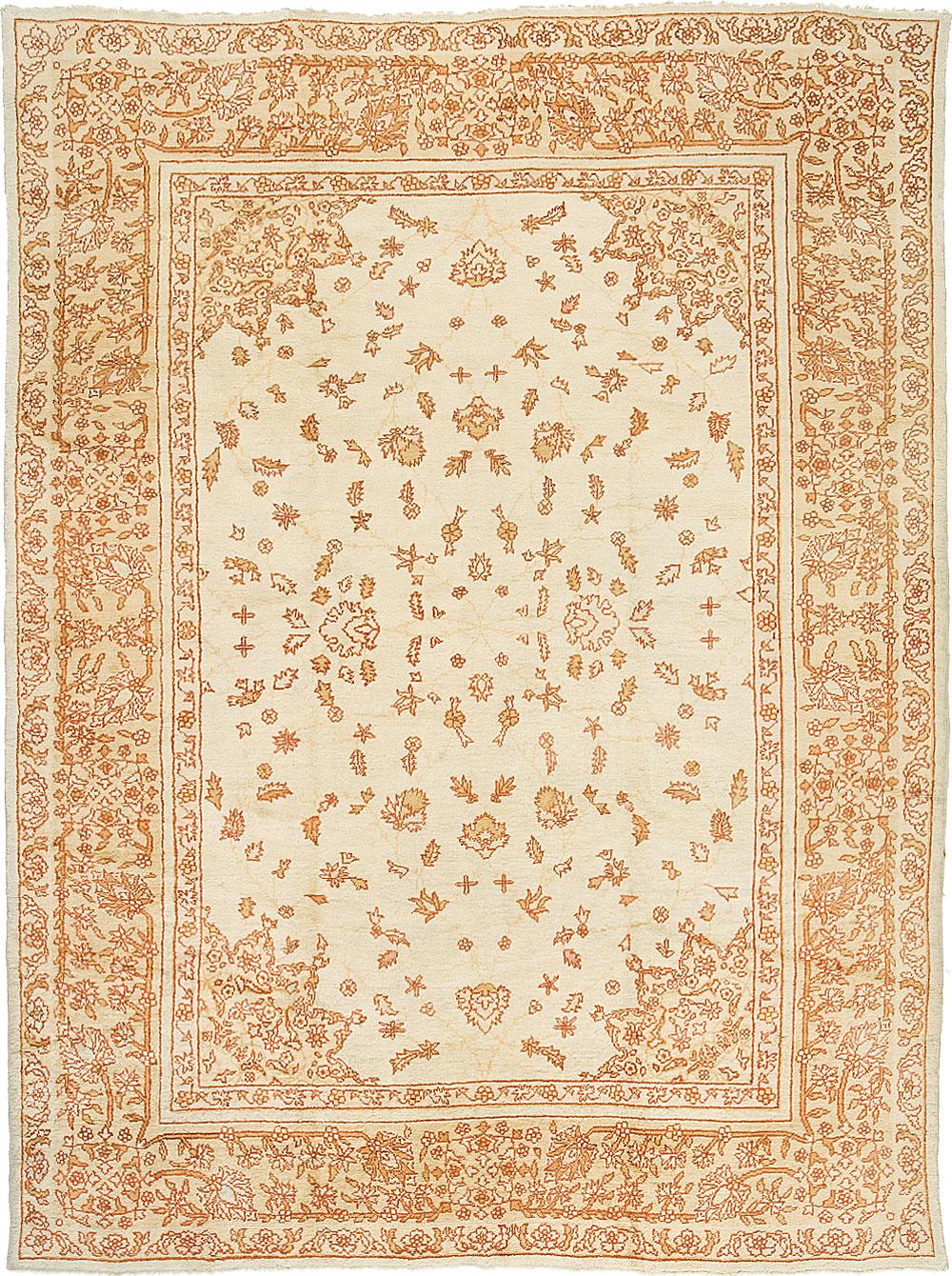 Oushak Carpet_17254