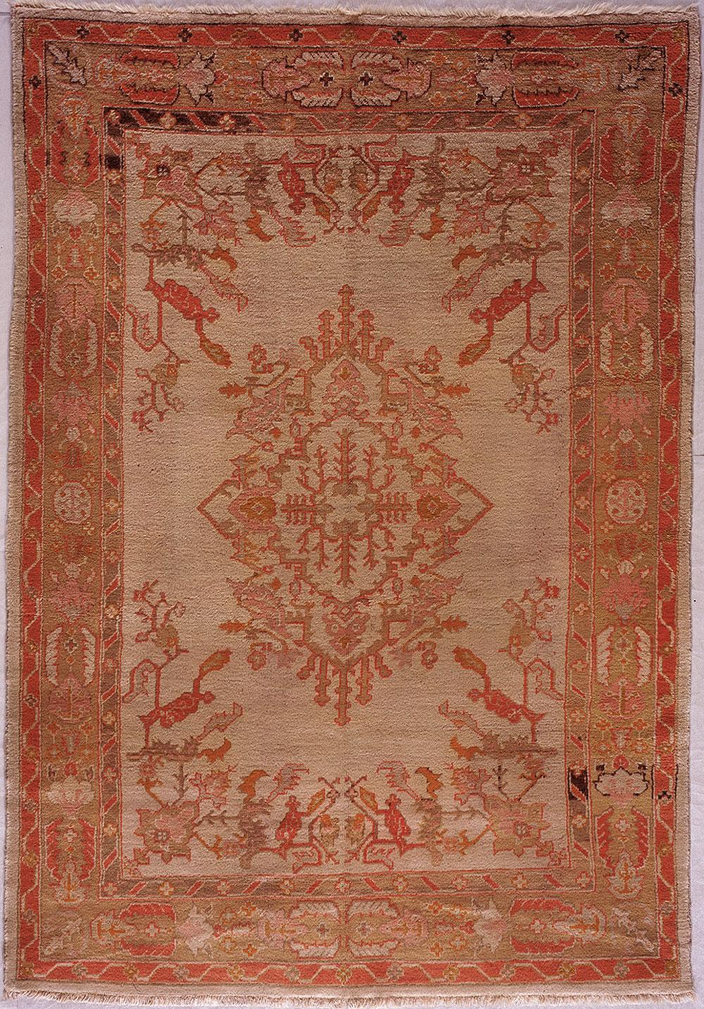 Oushak Carpet_17344