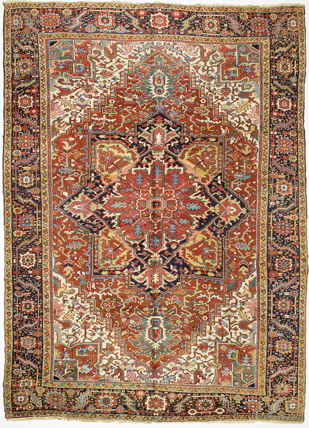 "Heriz Carpet 13' 0"" x 9' 5"""