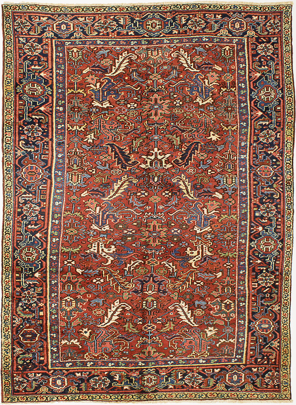 "Heriz Carpet 8' 8"" x 6' 3"""