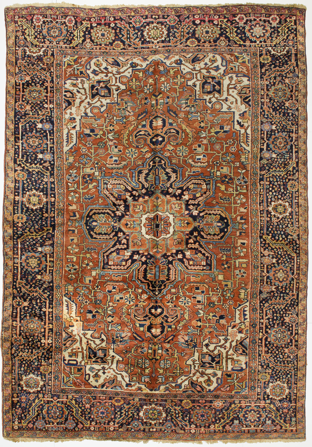 "Heriz Carpet 11' 5"" x 8' 0"""
