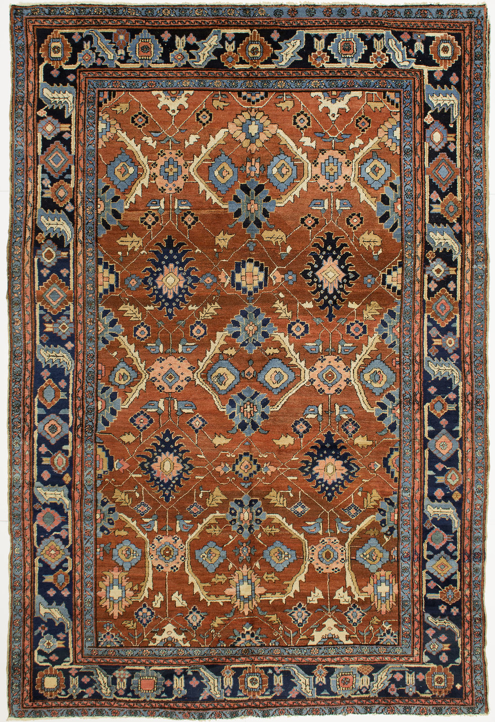 "Heriz Carpet 10' 9"" x 7' 2"""