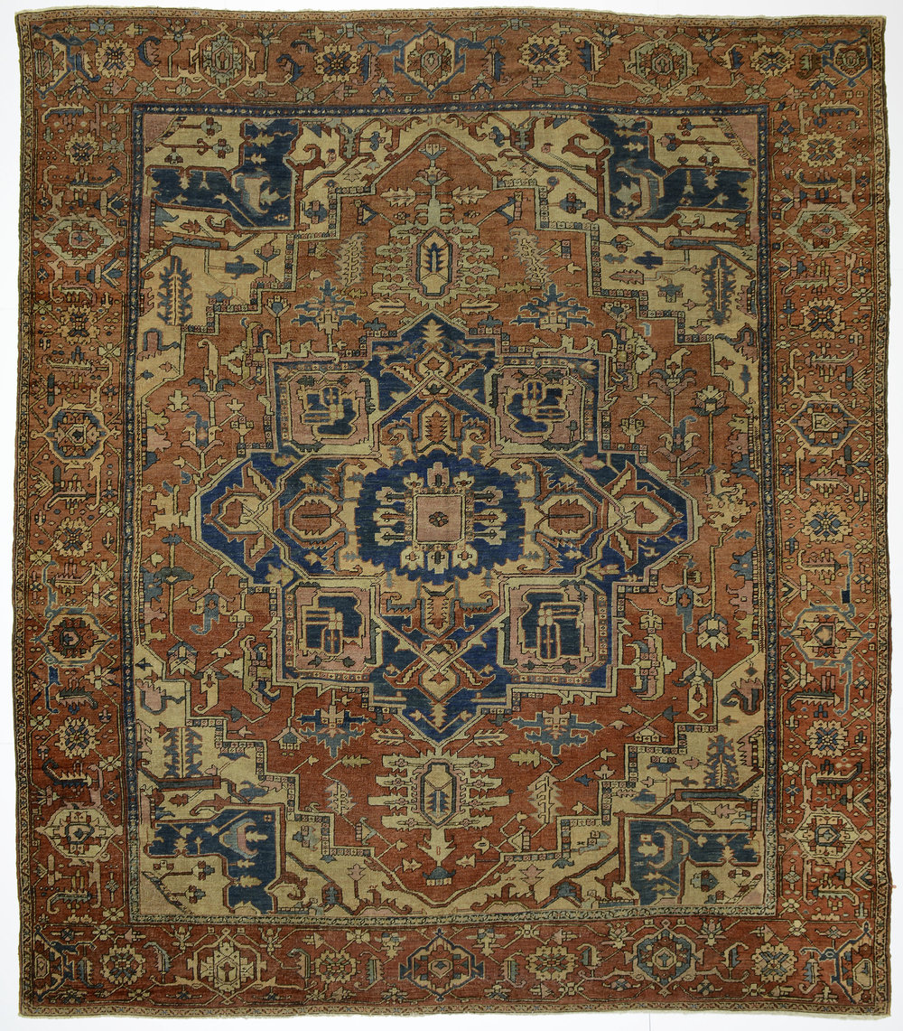 "Heriz Carpet 11' 4"" x 10' 0"""