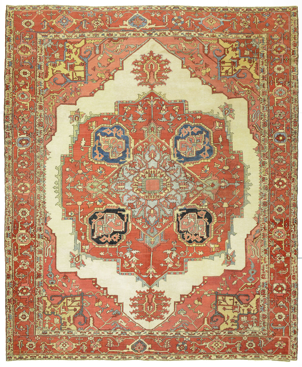 "Heriz Carpet 12' 1"" x 10' 0"""
