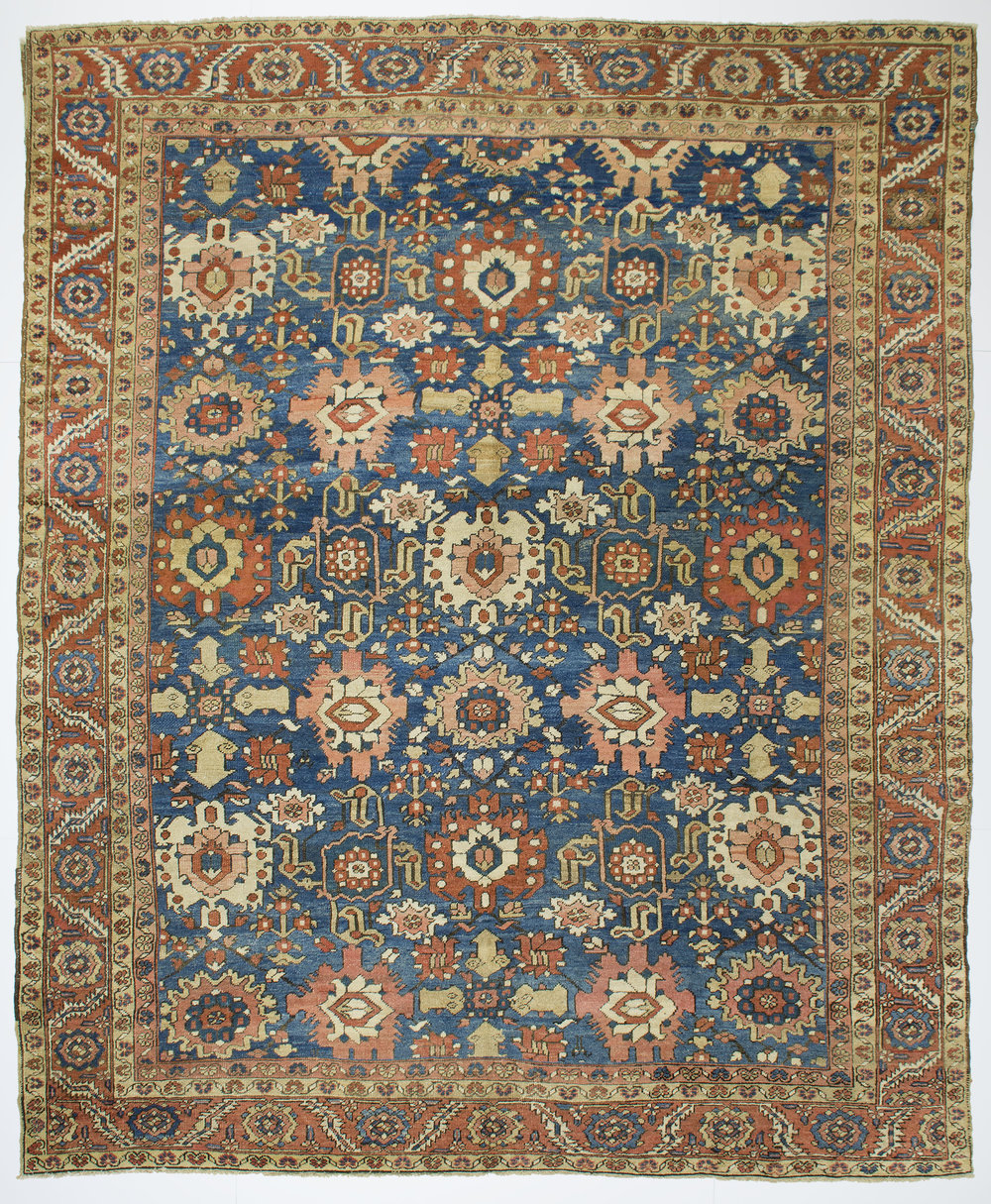 "Heriz Carpet 11' 10"" x 9' 10"""