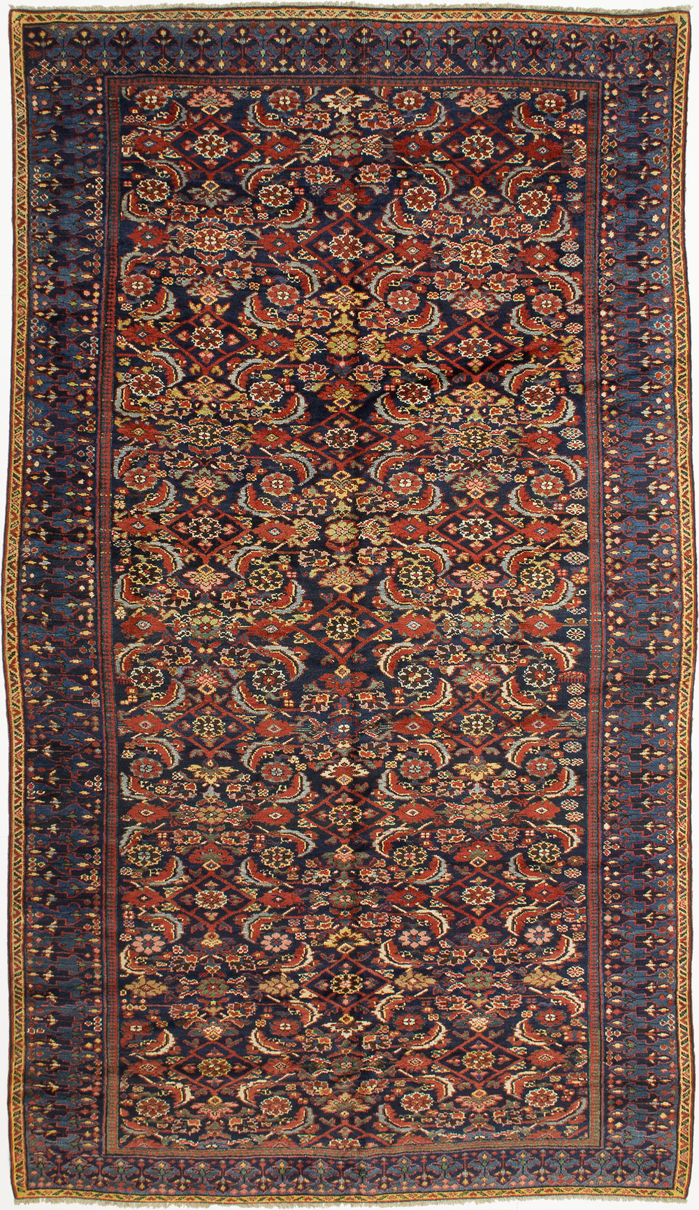 "Kurdish Carpet 11' 0"" x 6' 4"""