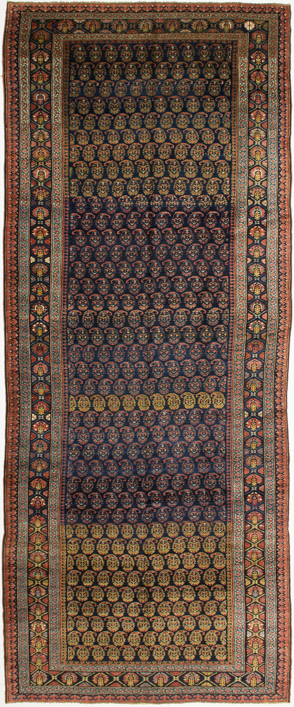 "Kurdish Gallery Carpet 14' 5"" x 5' 8"""